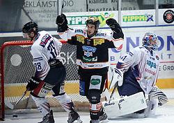 05.11.2010, Eishockeystadion, Szekesfehervar, HUN, EBEL, SAPA Fehervar AV19 vs Moser Medical Graz 99ers, im Bild NORRIS (10), EXPA Pictures © 2010, PhotoCredit: EXPA/ A. Kovacs