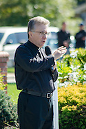 15 Oct. 2016 Forked River USA / Father Richard, Pastor of St Pius X church gives the blessing as St Pius X celebrates it's 10th year in their new church with a festival open to all  /  Michael Glenn  / Glenn Images