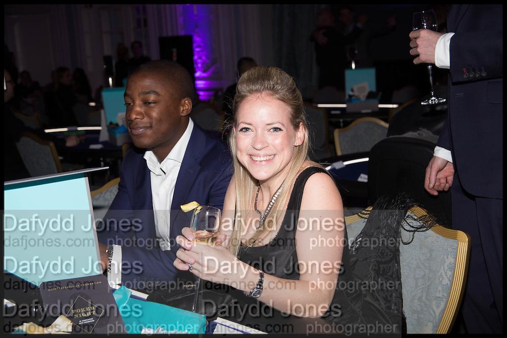 JOHN SENDAMA; SUZI SENDAMA, Quintessentially Foundation Poker Night,  annual poker night,  to raise money for Right to play, Greenhouse and Place2Be. Savoy. 13 November 2014.