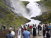 Norway Kjosfossen waterfall