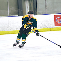 5th year forward, Corey Kosloski (17) of the Regina Cougars during the Men's Hockey Home Game on Sat Jan 19 at Co-operators Center. Credit: Arthur Ward/Arthur Images