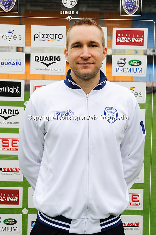 Loic CHATELAIN - 11.09.2013 - Photo Officielle - Troyes<br /> Photo : Icon Sport