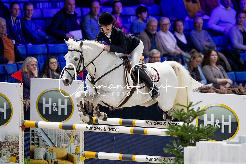 Engelsman Lily, NED, Blackwoodland Rock<br /> Jumping Mechelen 2019<br /> © Hippo Foto - Sharon Vandeput<br /> 28/12/19