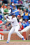 Starlin Castro of the Chicago Cubs (Photo by Joe Robbins)