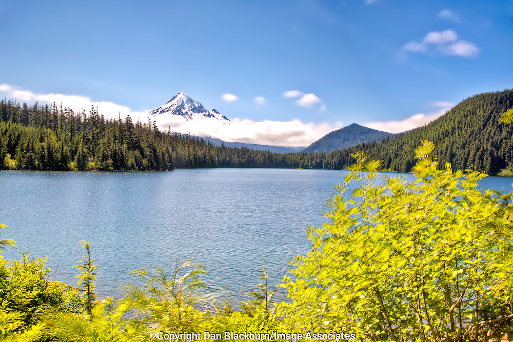Mt. Hood, Oregon, as seens from Lost Lake in the Cascade Mountains