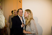 Lady Sophia Hesketh; Tom Parker Bowles: Sara Parker Bowles, Quintessentially  Summer arts party with Perier Jouet.  An evening of performance art. Phillips de Pury Gallery. London. 9 July 2008. *** Local Caption *** -DO NOT ARCHIVE-© Copyright Photograph by Dafydd Jones. 248 Clapham Rd. London SW9 0PZ. Tel 0207 820 0771. www.dafjones.com.
