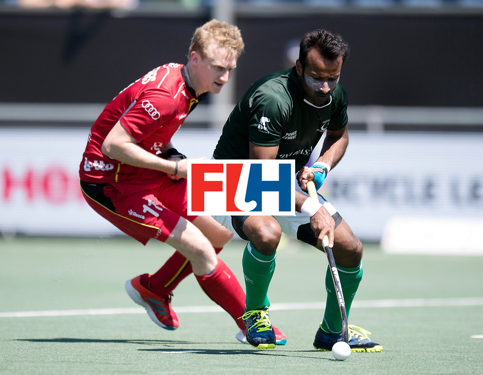BREDA - Rabobank Hockey Champions Trophy<br /> 5th/6th place Belgium - Pakistan<br /> Photo: <br /> COPYRIGHT WORLDSPORTPICS FRANK UIJLENBROEK