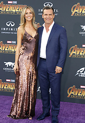 Josh Brolin and Kathryn Boyd at the premiere of Disney and Marvel's 'Avengers: Infinity War' held at the El Capitan Theatre in Hollywood, USA on April 23, 2018.