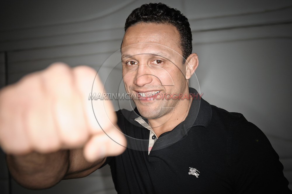 A portrait of mixed martial arts athlete Renzo Gracie