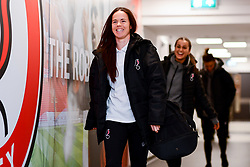 Olivia Chance of Bristol City arrives at Stoke Gifford Stadium prior to kick off - Mandatory by-line: Ryan Hiscott/JMP - 17/02/2020 - FOOTBALL - Stoke Gifford Stadium - Bristol, England - Bristol City Women v Everton Women - Women's FA Cup fifth round