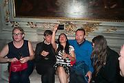 SILKE OTTO-KAMPP; MATHIAS POLEDNA; MATHIAS'S WIFE; THOMAS EGGERED, preview of Pinchuk Foundation's Future Generation Art Prize,     Palazzo Contarini PolignacVenice. Venice Bienalle. Thursday 30 May).