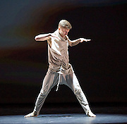 BBC Young Dancer 2015 <br /> at Sadler's Wells, London, Great Britain <br /> 8th May 2015 <br /> <br /> Grand Final <br /> TX Saturday 7pm on 9th May 2015 <br /> <br /> <br /> Connor Scott - Contemporary <br /> WINNER <br /> <br /> <br /> <br /> <br /> Photograph by Elliott Franks <br /> Image licensed to Elliott Franks Photography Services