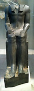 Statue of King Senwosret I 12th Dynasty, circa 1961--1917 BC