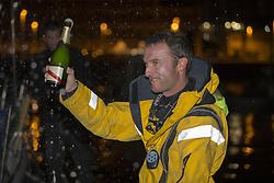 June 6, 2017 - Gijon, ESPAGNE - Adrien Hardy (Agir Recouvrement) 2eme de la 1ere etape de la Solitaire Urgo Le Figaro 2017 entre Bordeaux et Gijon - Gijon le 07/06/2017 (Credit Image: © Panoramic via ZUMA Press)