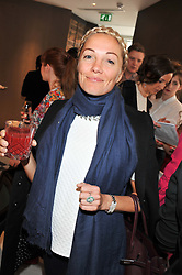 CAROLINE FLEMING at a lunch to launch Cash & Rocket on Tour 2013 hosted by Julia Brangstrup in aid of Orpan Aid and Shine on Sierrra Leone held at Banca, 40 North Audley Street, London on 29th April 2013.