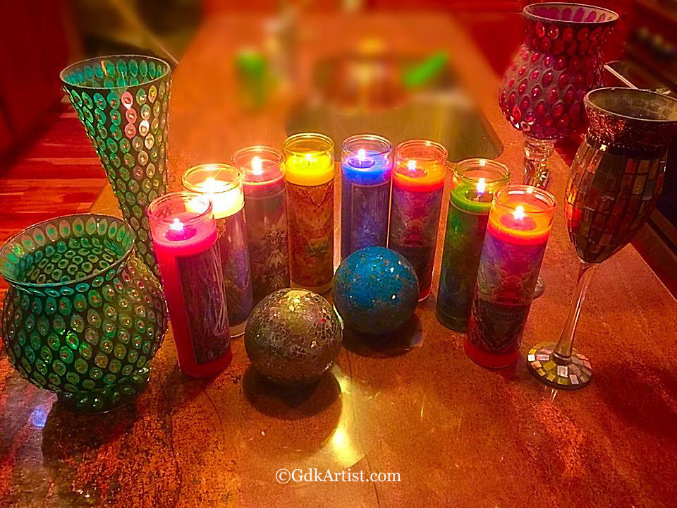 Candles are available in shipments of 6 or 12.  You can choose the variety pack or pick your own combination.