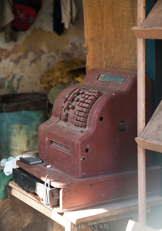 Old cash register, Habana Vieja, Cuba