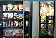 Subsidized drinks and snacks vending machine in offices of an auditing company at their London headquarters