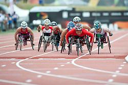 ZHOU Hongzhuan, CHN, 800m, T53, 2013 IPC Athletics World Championships, Lyon, France