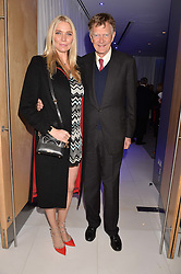 Jodie Kidd and her father Johnny Kidd at the Giselle Premier VIP Party, St.Martin's Lane Hotel, London England. 11 January 2017.