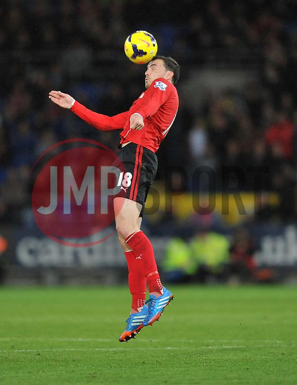 Cardiff City's Jordon Mutch - Photo mandatory by-line: Alex James/JMP - Tel: Mobile: 07966 386802 03/11/2013 - SPORT - FOOTBALL - The Cardiff City Stadium - Cardiff - Cardiff City v Swansea City - Barclays Premier League