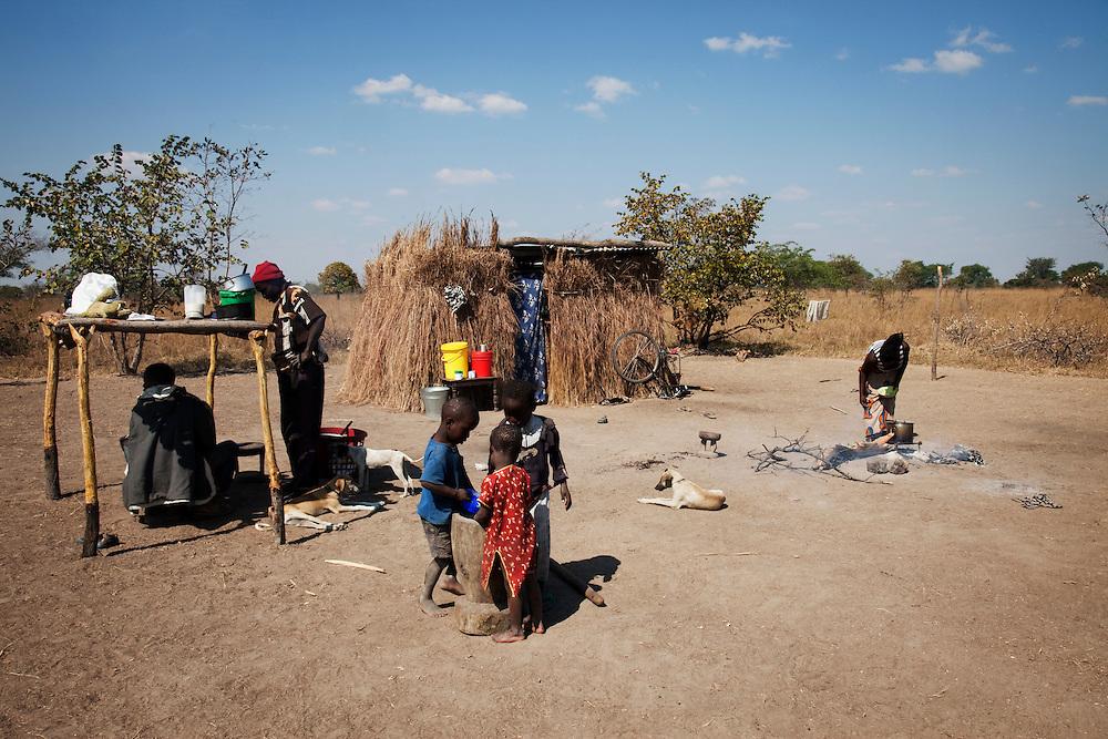 Mutinta Chiila. Kayola village, Hamavwa ward, Zambia.