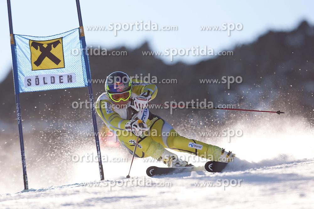 23.10.2011, Rettenbachferner, Soelden, AUT, FIS World Cup Ski Alpin, Herren, Riesenslalom, im Bild Aksel Lund Svindal (NOR) // during Mens ginat Slalom at FIS Worldcup Ski Alpin at the Rettenbachferner in Solden on 23/10/2011. EXPA Pictures © 2011, PhotoCredit: EXPA/ Johann Groder