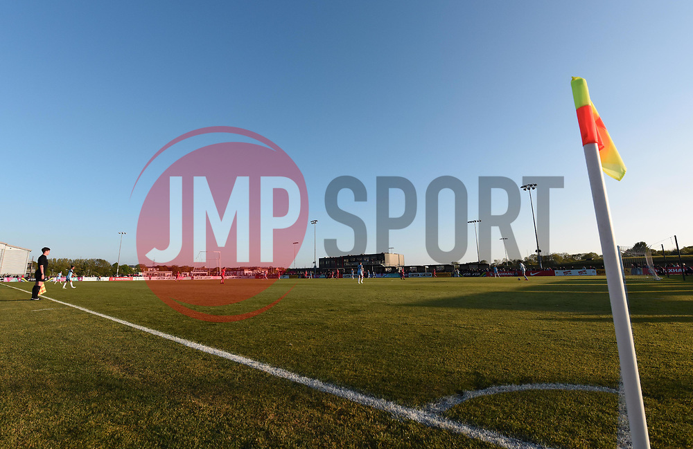 General view of the pitch at Stoke Gifford Stadium - Mandatory by-line: Paul Knight/JMP - 09/05/2017 - FOOTBALL - Stoke Gifford Stadium - Bristol, England - Bristol City Women v Manchester City Women - FA Women's Super League Spring Series