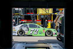 November 3, 2018 - Fort Worth, TX, U.S. - FORT WORTH, TX - NOVEMBER 03: Monster Energy NASCAR Cup Series driver Corey LaJoie (72) drives through the garage area gets during practice for the AAA Texas 500 at the Texas Motor Speedway in Fort Worth, Texas. (Photo by Matthew Pearce/Icon Sportswire) (Credit Image: © Matthew Pearce/Icon SMI via ZUMA Press)