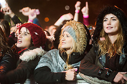 6 November 2013, Meadowhall Sheffield South Yorkshire Fans Watch the Christmas Light Switch On Charity Concert.<br /> <br /> 6th November 2013<br /> Image © Paul David Drabble<br /> www.pauldaviddrabble.co.uk
