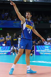 SIMONE ANZANI<br /> <br /> Italy vs Slovenia<br /> Volleyball men's world championship <br /> Florence September 18, 2018