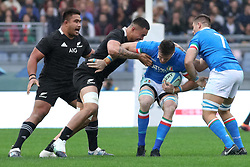 November 24, 2018 - Rome, Rome, Italy - Abraham Jurgens Steyn during the Test Match 2018 between Italy and New Zealand at Stadio Olimpico on November 24, 2018 in Rome, Italy. (Credit Image: © Emmanuele Ciancaglini/NurPhoto via ZUMA Press)