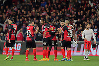 JOIE GUINGAMP   - 14.12.2014 - Guingamp / PSG - 18eme journee de Ligue1<br /> Photo : Vincent Michel / Icon Sport *** Local Caption ***