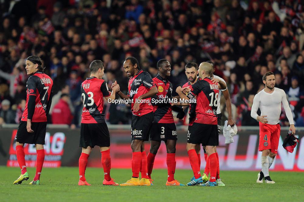 JOIE GUINGAMP   - 14.12.2014 - Guingamp / PSG - 18eme journee de Ligue1<br /> Photo : Vincent Michel / Icon Sport *** Local Caption ***