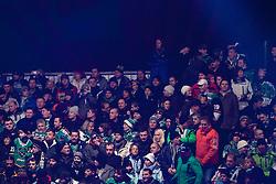 06.01.2013, Stadium Bezigrad, Ljubljana, SLO, EBEL, HDD Telemach Olimpija Ljubljana vs KHL Medvescak Zagreb 39. Runde, in picture visitors during the Erste Bank Ice Hockey League in 39th Round match between HDD Telemach Olimpija Ljubljana and KHL Medvescak Zagreb at the open ice winter classic Stadium Bezigrad, Ljubljana, Slovenia on 2013/01/06. (Photo By Urban Urbanc / Sportida.com)