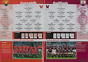 All Ireland Senior Hurling Championship Final,.09.09.2001, 9th September 2001,.Minor Cork 2-10, Galway 1-8,.Senior Tipperary 2-18, Galway 2-15,  .09092001AISHCF,.Cork, 1 Martin Coleman, Ballinhassig, 2 Jerry O'Mahony, Newtownshandrum, 3 Cian O'Connor, Erin's Own, 4 Kevin Goggin, Sarsfield, 5 Shane Murphy, Erin's Own, 6 Shane Murphy, Erin's Own,  7 Michael Prout, Shamrocks, 8 Kevin Hartnett, Russell Rovers, 9 Brian Smidy, Castlemartyr, 10 Kieran Murphy, Erin's Own, 11 Tomas O'Leary, Erin's Own, 12 John O'Connor, Newtownshandrum, 13 Kieran Murphy, Sarsfield, 14 Setanta O hAilpin, Na Piarsaigh, 15 Fergus Murphy, subs, Antony Nash, PJ Copse, Tagdh Healy, Richard Relihan, Gerard McCarthy, Peter Morgan, Diarmuid O'Riordan, Michael O'Donovan, Stephen O'Sullivan, ..Galway, 1 Paul Dullaghan, Mountbellow Moylough, 2 C O Dearbhain, Mullagh, 3 Tony Og Regan, Rahoon Newcastle, 4 Ciaran Finnerty, Kiltormer, 5 Eoin Lynch, Portumna, 6 Shane Kavanagh, Kinvara, 7 Joe O'Leary, Ardrahan, 8 Tom Tierney, Kilnadeema Leitrum, 9 Ger Farragher, Castlegar, 10 Brendan Lucas, Meelick Eyrecourt, 11 Kevin Hayes, Portumna, 12 Adrian Cullinane, Craughwell, 13 Joe Gantley, Beagh, 14 Johnnie Maher, Loughrea, 15 Kenneth Burke, St Thomas's, subs, Michael Donoghue, David Collins, Kevin Briscoe, Andrew Smith, Tom Regan, Niall Healy, Robert Murray, Colm Burke, Kevin Huban,