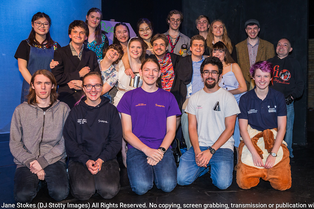 Southampton University - Trial by Jury<br /> <br /> Directors: Joseph Hand & Jesse Bean McCabe<br /> Musical Directors: Billy Boulton & Delyth Simons<br /> <br /> UNIFest at the International Gilbert & Sullivan Festival in the Utopia Theatre at the Royal Hall in Harrogate, England on Friday 16 August 2019 <br /> <br /> Photo Jane Stokes