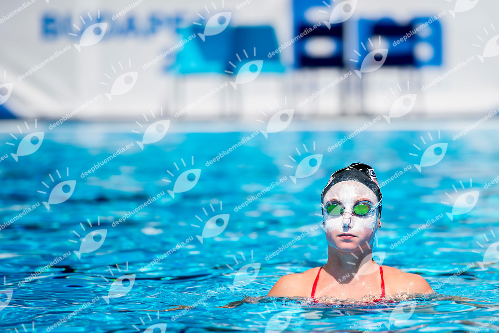 Team United States USA<br /> Synchronised swimming, Synchro<br /> Day 000 12/07/2017 <br /> XVII FINA World Championships Aquatics<br /> City Park - Varosliget Lake<br /> Budapest Hungary July 14th - 30th 2017 <br /> Photo @A.Masini/Deepbluemedia/Insidefoto