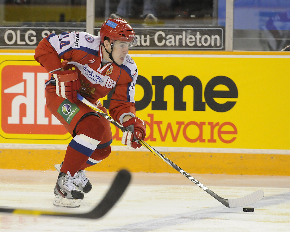 Game 3 of the SUBWAY Super Series in Ottawa, ON on Thursday Nov. 10, 2011. Photo by Aaron Bell/OHL Images