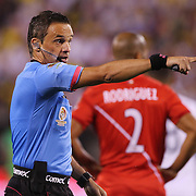 EAST RUTHERFORD, NEW JERSEY - JUNE 17: Referee Patricio Loustau of Argentina in action during the Colombia Vs Peru Quarterfinal match of the Copa America Centenario USA 2016 Tournament at MetLife Stadium on June 17, 2016 in East Rutherford, New Jersey. (Photo by Tim Clayton/Corbis via Getty Images)