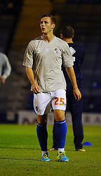 Bristol Rovers' Seanan Clucas - Photo mandatory by-line: Seb Daly/JMP - Tel: Mobile: 07966 386802 27/09/2013 - SPORT - FOOTBALL - Roots Hall - Southend - Southend United V Bristol Rovers - Sky Bet League Two