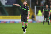Forest Green Rovers Dayle Grubb(8) during the EFL Sky Bet League 2 match between Yeovil Town and Forest Green Rovers at Huish Park, Yeovil, England on 8 December 2018.
