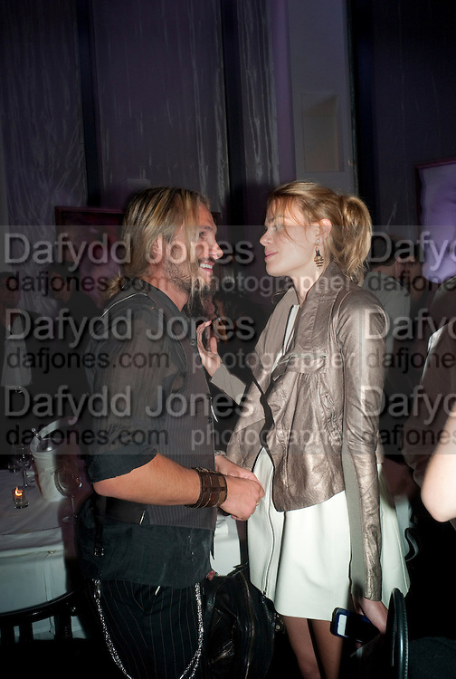 """MARCO PEREGO; ISABEL BSCHER; , , Andy Valmorbida hosts party to  honor artist Raphael Mazzucco and Executive Editors Jimmy Iovine and Sean ÒDiddyÓ Combs with a presentation of works from their new book, Culo by Mazzucco. Dinner at Mr.ÊChow at the W South Beach.Ê2201 Collins Avenue,Miami Art Basel 2 December 2011<br /> MARCO PEREGO; ISABEL BSCHER; , , Andy Valmorbida hosts party to  honor artist Raphael Mazzucco and Executive Editors Jimmy Iovine and Sean """"Diddy"""" Combs with a presentation of works from their new book, Culo by Mazzucco. Dinner at Mr.Chow at the W South Beach.2201 Collins Avenue,Miami Art Basel 2 December 2011"""