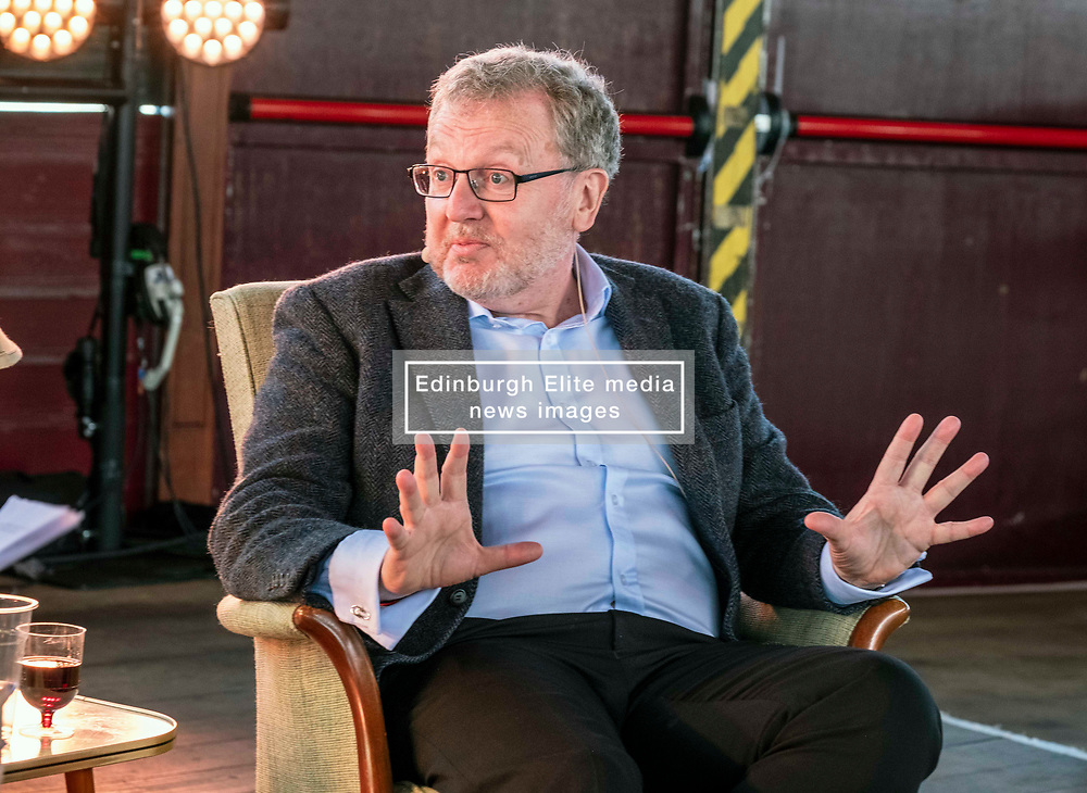Pictured: <br />Fringe By the Sea - David Mundell. The former<br /> Scottish Secretary in conversation with Katy Balls of The Spectator.<br /><br />Ger Harley   EEm 8 August 2019