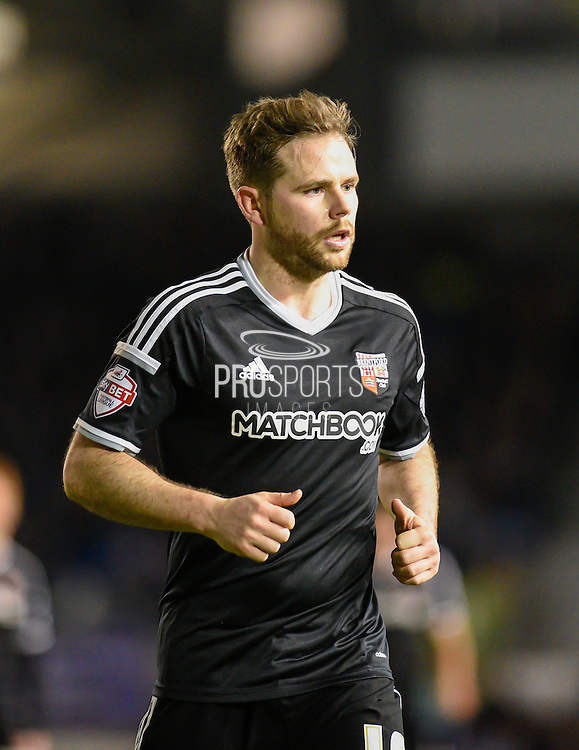 Brentford midfielder Alan Judge during the Sky Bet Championship match between Brighton and Hove Albion and Brentford at the American Express Community Stadium, Brighton and Hove, England on 5 February 2016. Photo by David Charbit.
