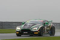 Jake Giddings (GBR) / Kieran Griffin (GBR)  #47 JW Bird Motorsport  Aston Martin V8 Vantage GT4  Aston Martin 4.7L V8. British GT Championship at Donington Park, Melbourne, Leicestershire, United Kingdom. September 10 2016. World Copyright Peter Taylor/PSP.