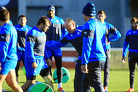 Nicolas MAS / Jake WHITE - nouveau coach - 31.12.2014 - Rugby - Entrainement Montpellier - Top 14<br />Photo : Nicolas Guyonnet / Icon Sport