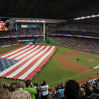 2017 All Star Game in Marlins Park, Miami, FL