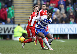 Reading's Nathaniel Chalobah holds of Nottingham Forest's Daniel Fox - Photo mandatory by-line: Robbie Stephenson/JMP - Mobile: 07966 386802 - 28/02/2015 - SPORT - Football - Reading - Madejski Stadium - Reading v Nottingham Forest - Sky Bet Championship