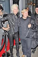 LONDON - December 18: Ellen Von Unwerth & Stephen Jones at the Snow Queen Vodka 2013 - Calendar Launch Party (Photo by Brett D. Cove)